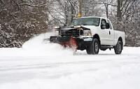 The SNOW has come! Let us plow your way!