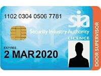 Security Door Supervisor Training (SIA)