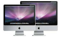 "2007 Imac 20"" with upgraded 240gb SSD harddrive"