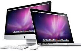 Wanted broken Macbook & iMac
