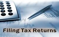 TAX RETURN (At very moderate rate or even Free)