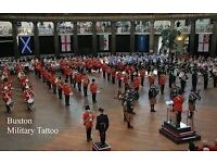2 x adult tickets for 7pm show at Buxton Military Tattoo 1st July