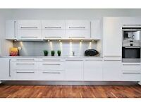 Kitchen Fitted in White Wanted ( New Only ) Including Built in Appliances a Bonus