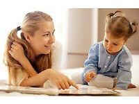 Weekend nanny available now! mothers help