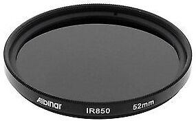 Balaweis 52mm Red Full Color Lens Filter for DSLR Camera Lens Accessory with 52MM Filter Thread