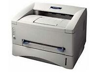 Brother HL-1430 mono laser printer with unused 6000 page cartridge