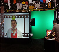 TUBBYS PARTY RENTAL DIGITAL AIR GRAFFITI WALL & TOUCH! Great Ide