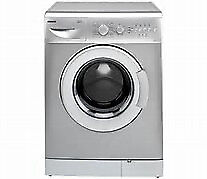 Beko WM5140 Silver Washing Machine, good working order.