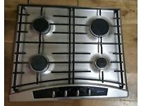 NEFF Gas Hob T2346 58 cm Stainless Steel Used - one of the knob need attention hence £25