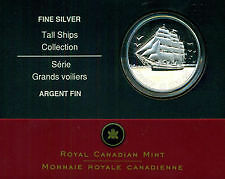Piece de monnaie 2005 Canada $20 TALL SHIPS Three-Masted Ship