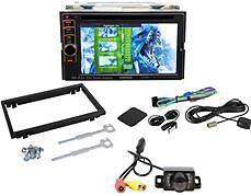 Kenwood DNX6190HD Double DIN Monitor Car DVD USB Player Navigation Backup Camera