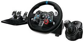 Logitech G29 Racing Steering wheel + gear shifter with box and warranty Ps4 Ps3 Pc