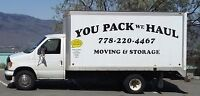MOVING & STORAGE - You Pack We Haul