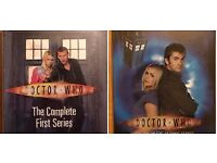 Doctor Who Season 1 dvd boxset & season 2 dvd boxset