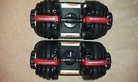 New in the Box Authentic Bowflex 552 Dumbbells (pair) $300