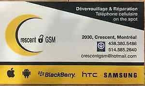 "Cell Phone repair shop "" Crescent GSM"" repair & unlocking"