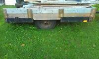 Rugged 8X6 utility trailer - REDUCED TO SELL