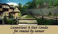 *** MONT TREMBLANT LUXURY MOUNTAIN RESORT CONDO ***