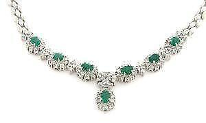 Emerald Necklace Ebay