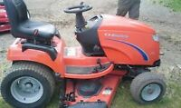 23 hp Simplicity Conquest 4wd lawn tractor