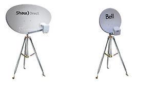 Satellite Antenna Service Bell Shaw directv dishnet Fta Cable