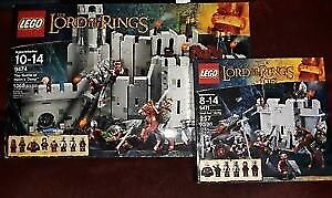 LEGO 9474 9471 The Lord of the Rings Helms deep Uruk Army