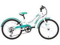 """Apollo Oceana Girls Kids Childrens Hybrid Bike 6 Speed 20"""" Inch Wheels V Brakes"""