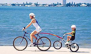 Trail gator pour vélo enfant