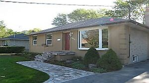3 Bedroom Detached Bungalow in S.E Oakville for lease