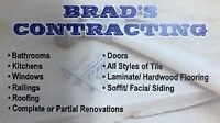 Brad's Contracting - Building Contractor/Renovation Specialist