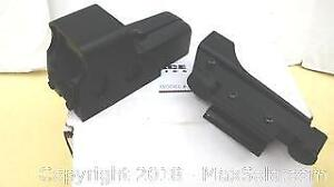 Trace Optics Model Tr-552 Red Green Holographic Sight. With A NcStar Sight.