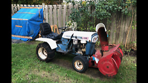 MTD Tractor and Snow Blower