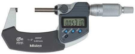 "MITUTOYO 293-341-30 Digital Micrometer,Outside,1 to 2"""