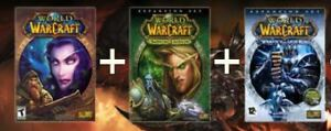 Looking for World of Warcraft Vanilla   BC   WotLK boxes!!