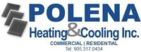 Polena Heating & Cooling Inc. - Furnaces from $1795