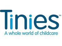 Room Leader job at Tinies Nursery, Gloucester