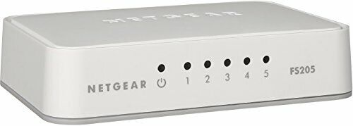 NETGEAR 5-Port Fast Ethernet 10/100 Unmanaged Switch  -