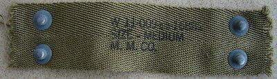 """Original WW2 US M1 Helmet Liner Neck Nape made by """"M.M. Co."""""""