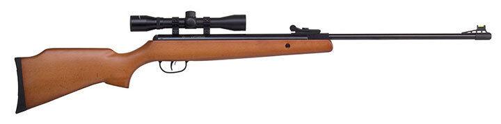 Crosman CO8M22X Optimus Spring Powered Break Barrel Airsoft Rifle w/4X32 Scope