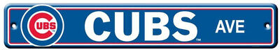 Chicago Cubs Street Sign NEW! 4