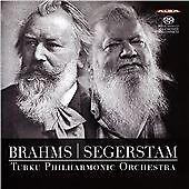 BRAHMS: SYMPHONY NO. 1; SEGERSTAM: SYMPHONY NO. 288 NEW CD