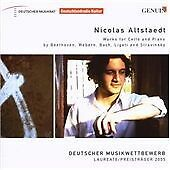 Works for Cello and Piano (Altstaedt, Piemonsti) CD NEW