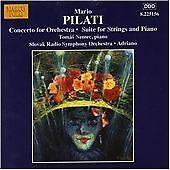 PILATI: CONCERTO FOR ORCHESTRA NEW CD