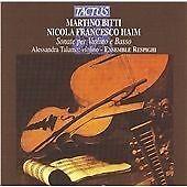 Martino Bitti/Nicola Francesco Haim: Sonate Per Violino E Basso CD NEW