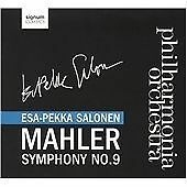 Philharmonia Orchestra Mahler: Symphony No. 9 in D major (Philh CD ***NEW***