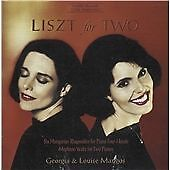 Liszt for Two (Mangos) CD NEW