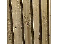 100 new featheredge boards
