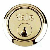 Brand new Yale 1109 Polished Brass Rim Nightlatch Cylinder in it's original packaging