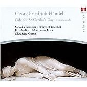 Ode for St. Cecilia's Day (Frimmer, Buchner) CD NEW