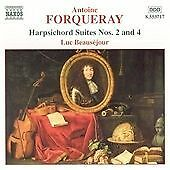 Harpsichord Suites Nos. 2 and 4 (Beausejour) CD NEW
